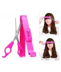 Bangs cut clip