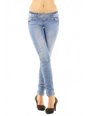 Jean slim taille basse