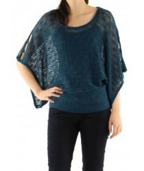 Pull chauve-souris crochet