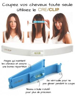 Kit Creaclip pour se couper les cheveux soi même
