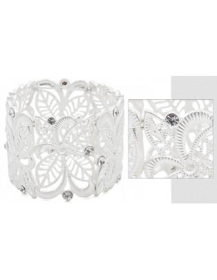 Bracelet strass blanc