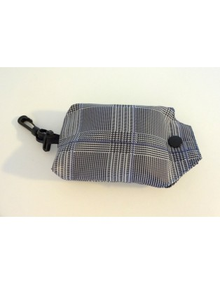 Sac de course pliable Quadri